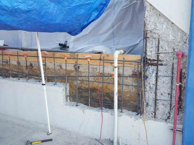 structural wall repair Fullerton